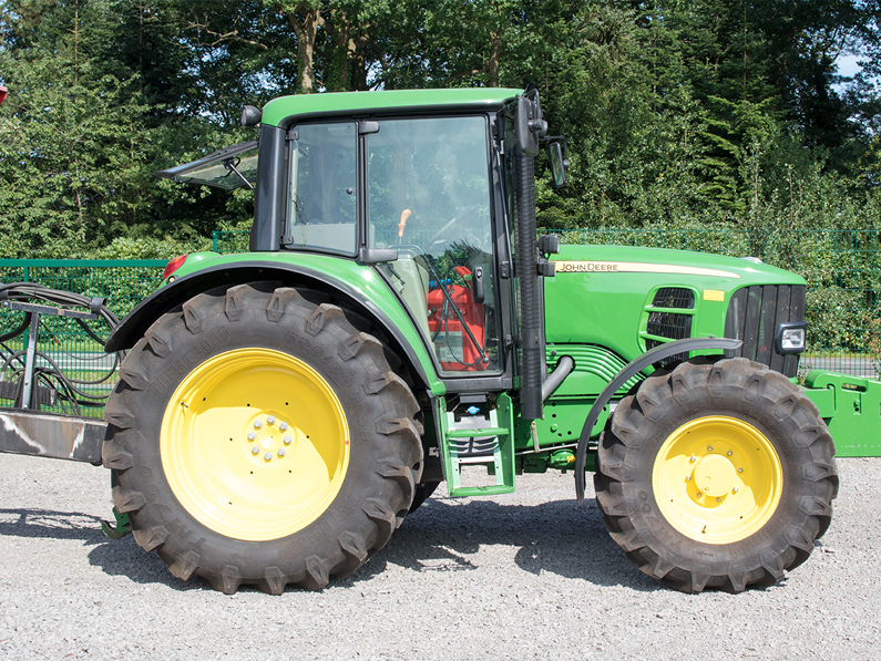 traktor john deere maschinenvermietung michael surray - Start
